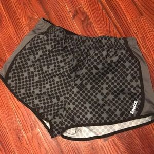 Reebok workout runner's shorts